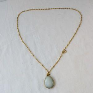 Stella & Dot Sanibel Pendant Necklace Gold Long